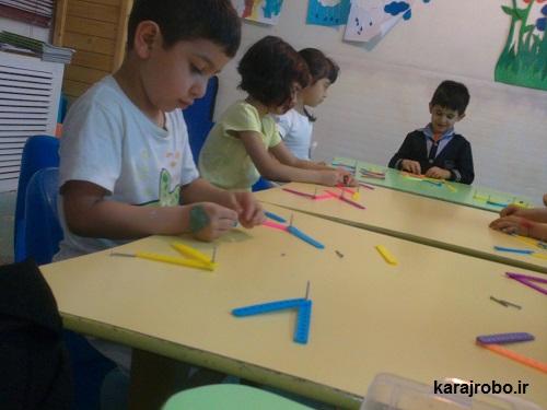 کلاس پرورش خلاقیت کودکان